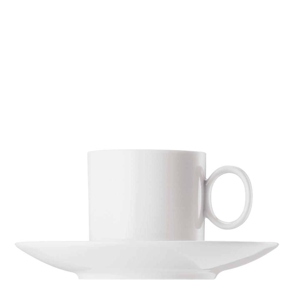 Kaffegods rak 21 cl Vit