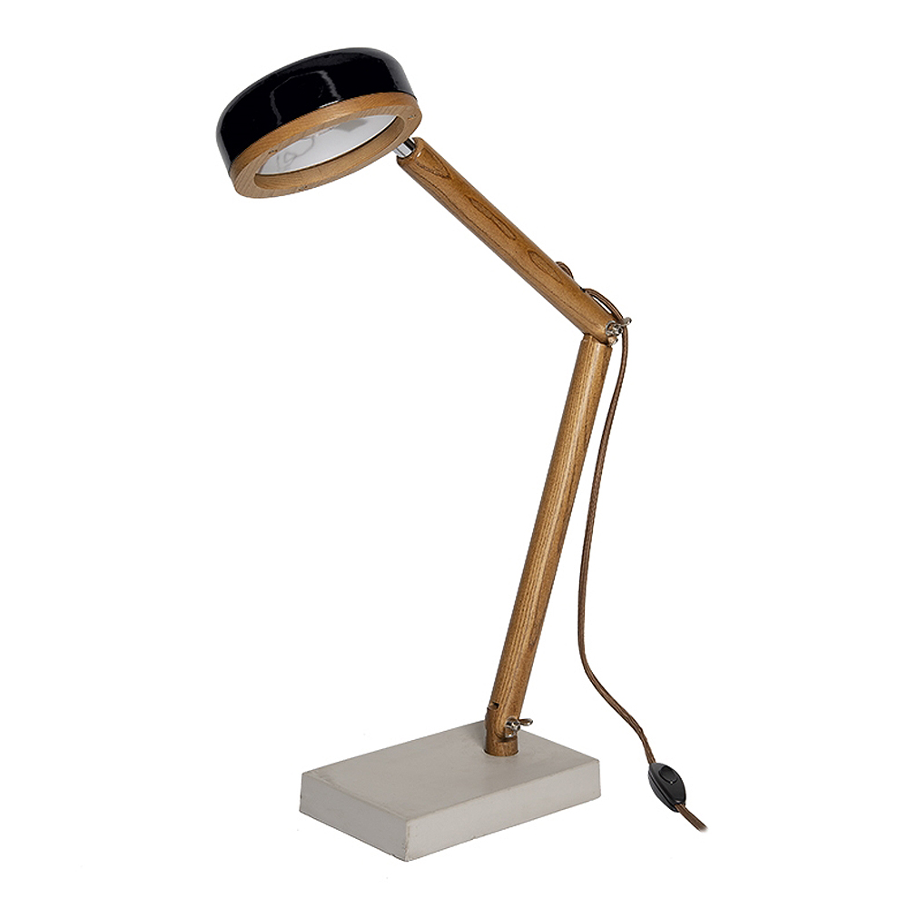 Mr Wattson Hipp Skrivbordslampa LED Fashion Black