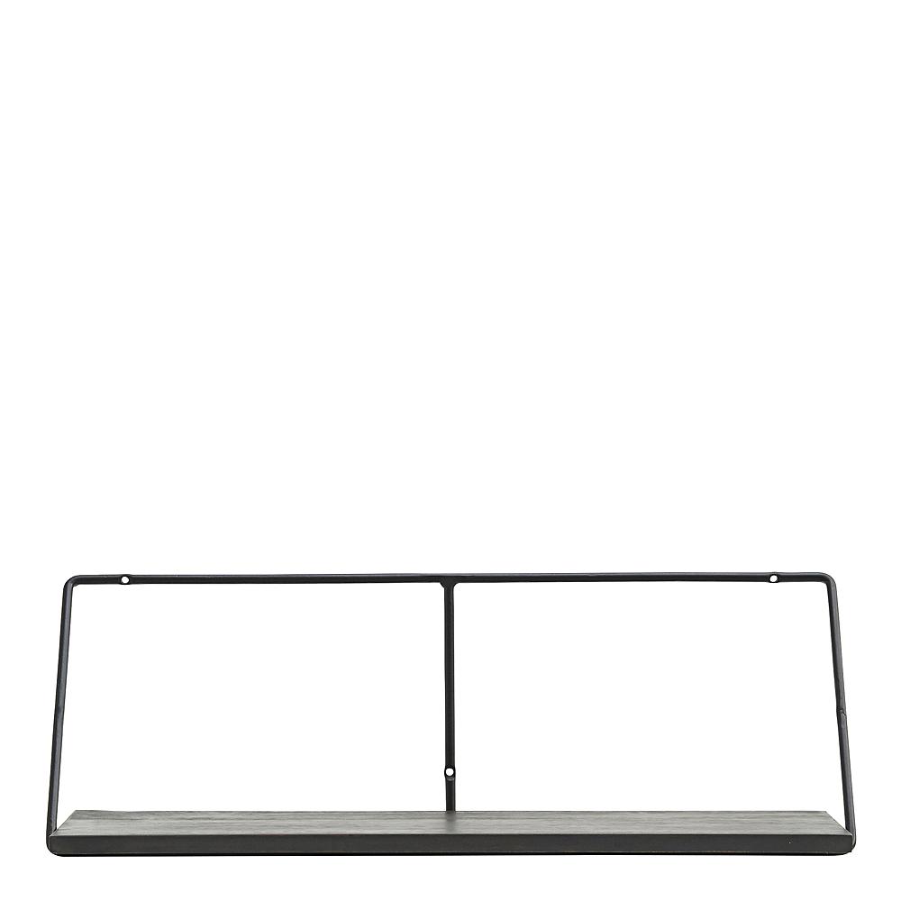 Wired Hylla 70 cm Svart