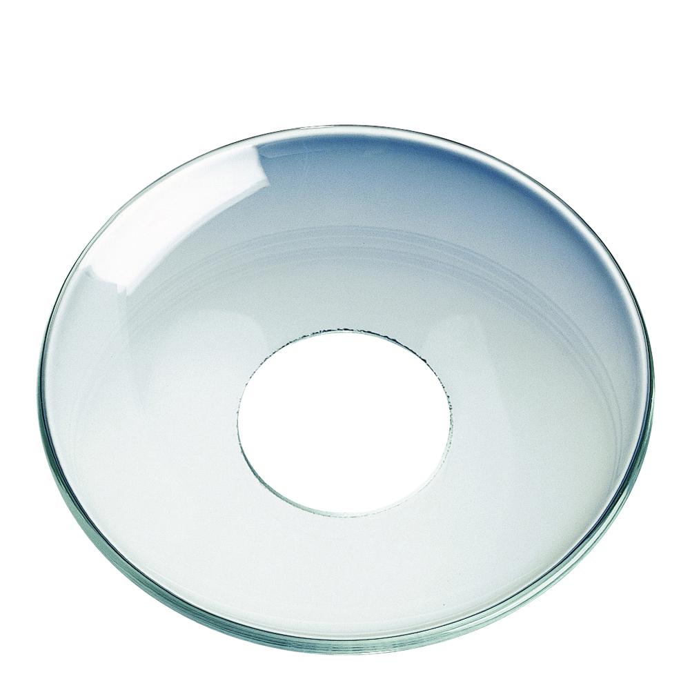 Ljusmanchett 6,5 cm Klar slät