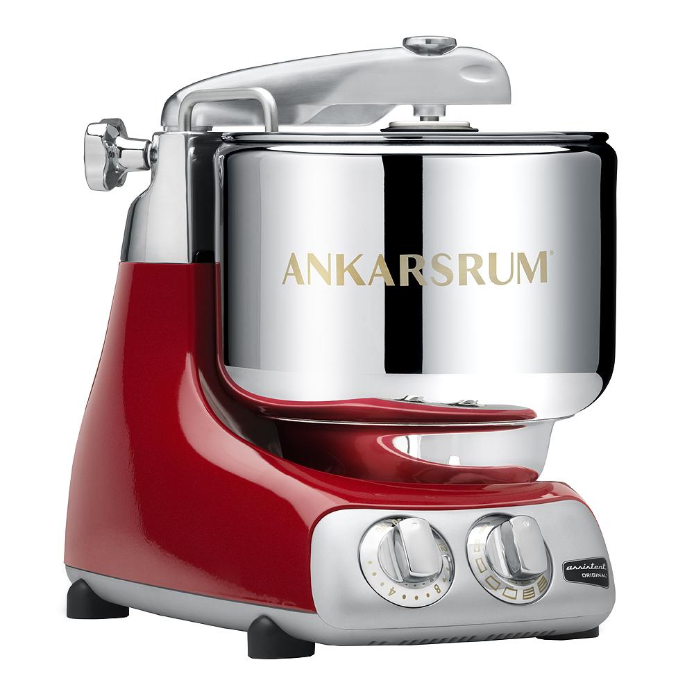 Ankarsrum Assistent Original Köksmaskin + Kokbok Röd
