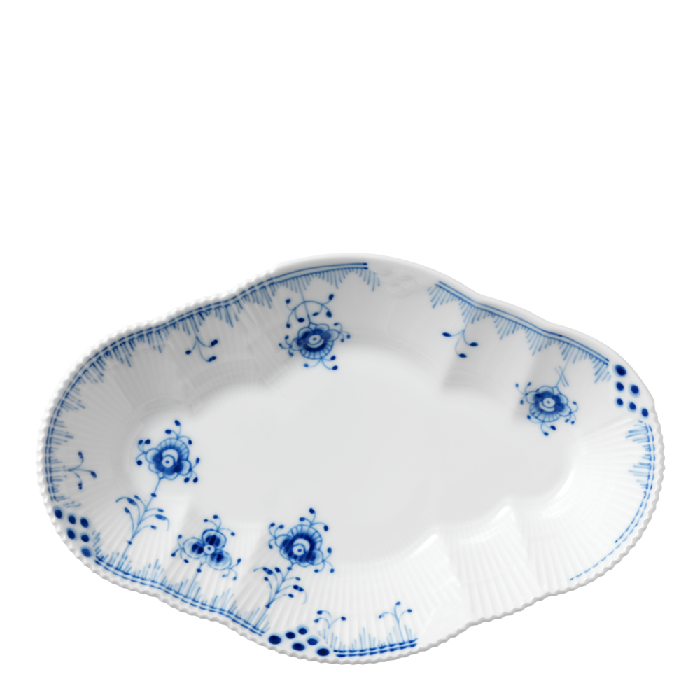 Blue Elements Fat 23 cm ovalt