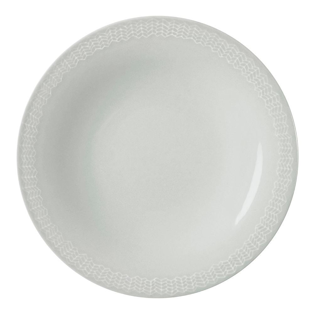 Sarjaton Tallrik Letti 22 cm Pärlgrå