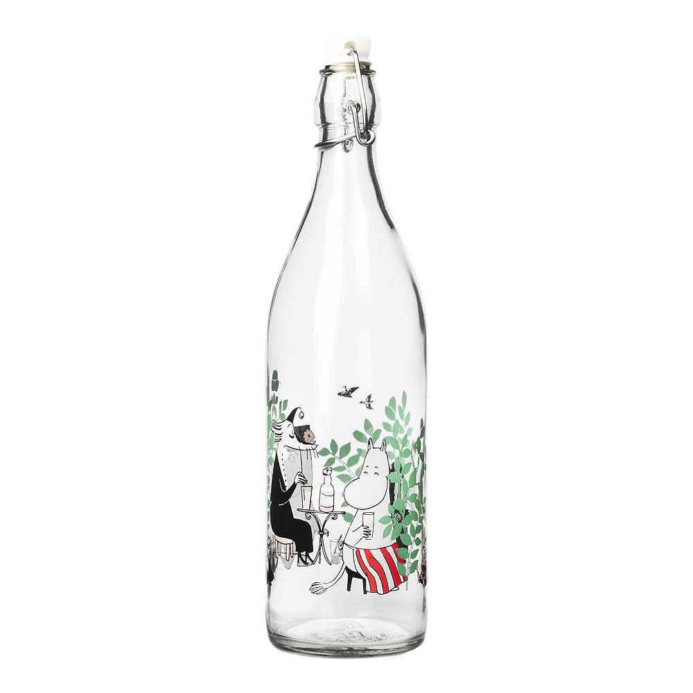 Mumin Glasflaska I trädgården 1 L