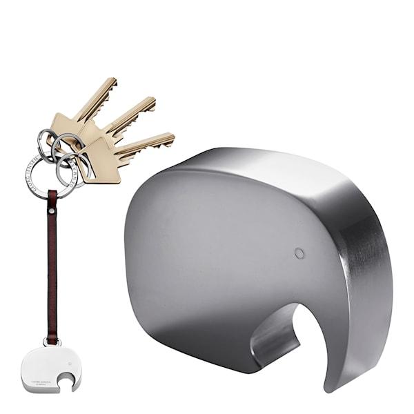 Elefant Gåvoset öppnare/nyckelring