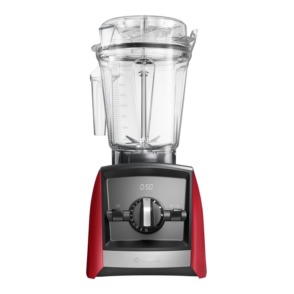 Ascent Blender A2500i Röd