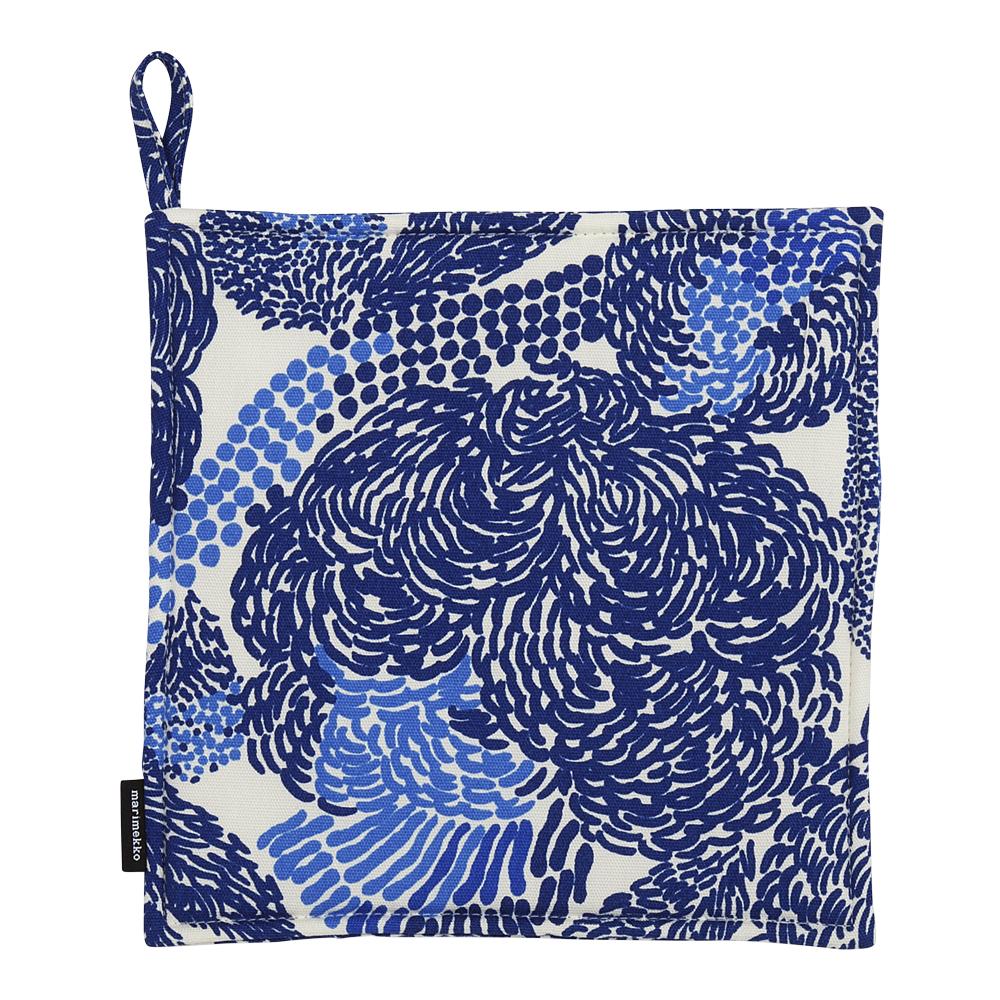 Mynsteri Grytlapp 21,5 cm Blå spets