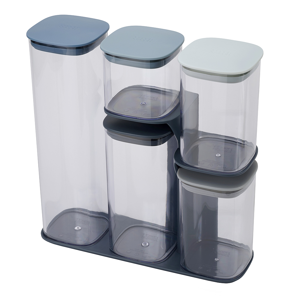 Podium Burk med lock 5-pack Sky