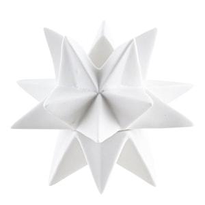 Ljusstake Star 14,5 cm Vit