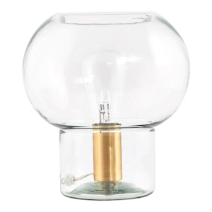 Mush Bordslampa 26 cm Glas/mässing