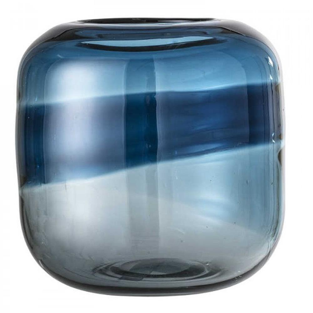 Vas Blå Glas 16,5 cm