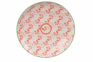 Oriental Tallrik 21,5 cm Vit & Röd