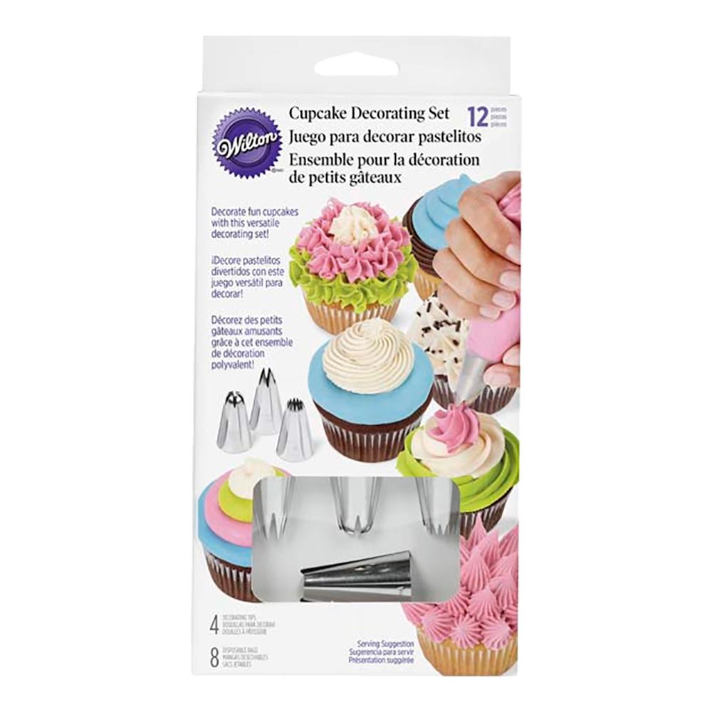 Dekoreringsset muffins 12 delar