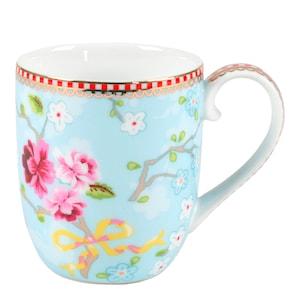 Floral Mugg liten Chinese Rose Blå