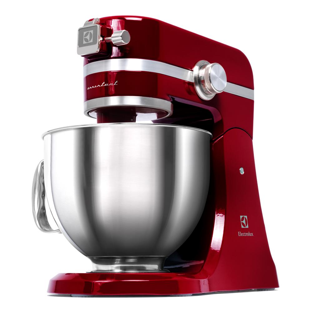 Assistent Köksmaskin 3 tillbehör Röd EKM4000