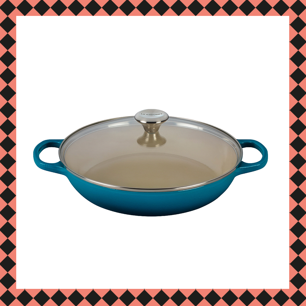 Signature Buffetgryta/Glaslock 3,5 L Deep Teal