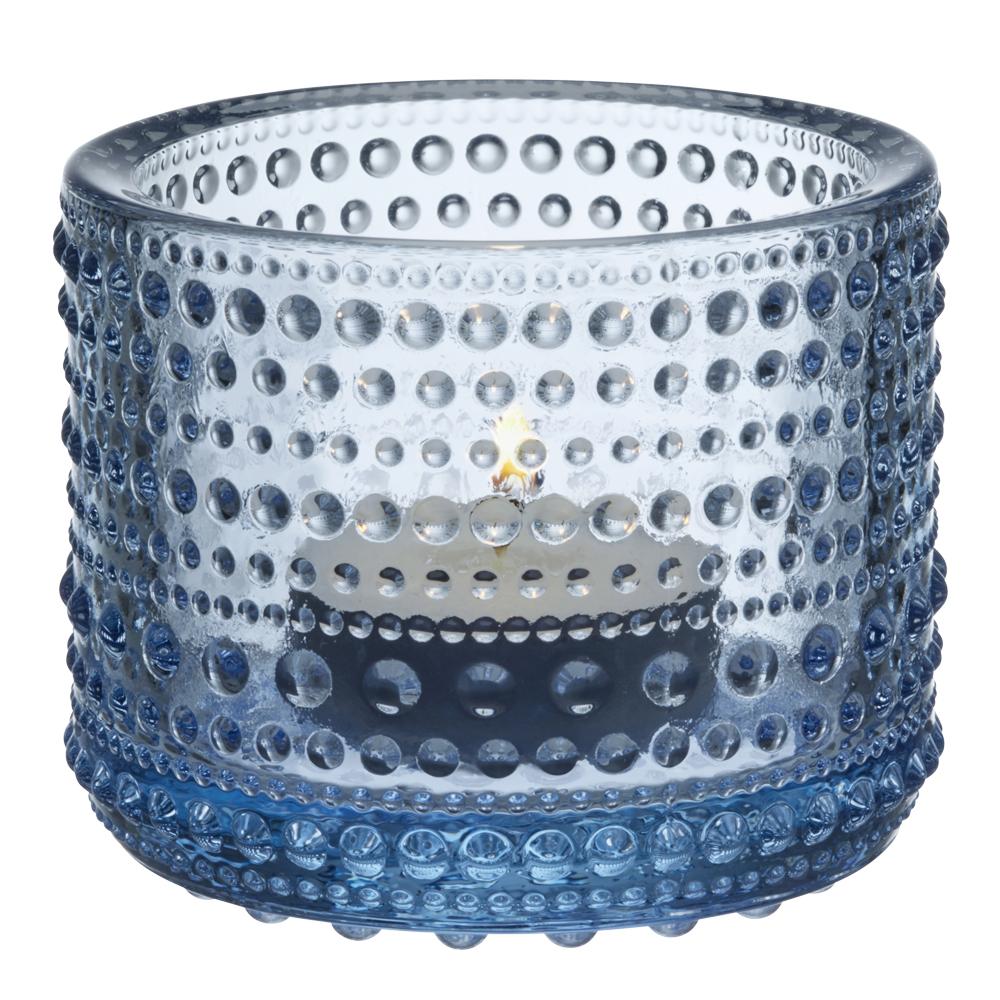 Kastehelmi Ljuslykta 6,4 cm Aqua