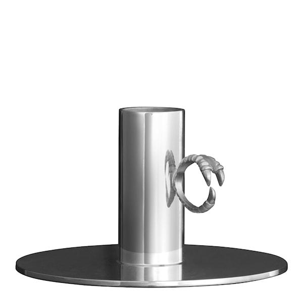 Claw Ljusstake ring 10,5 cm Silver