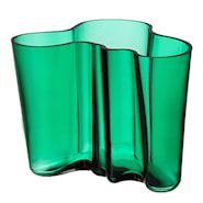 Alvar Aalto Collection Vas 16 cm Smaragd