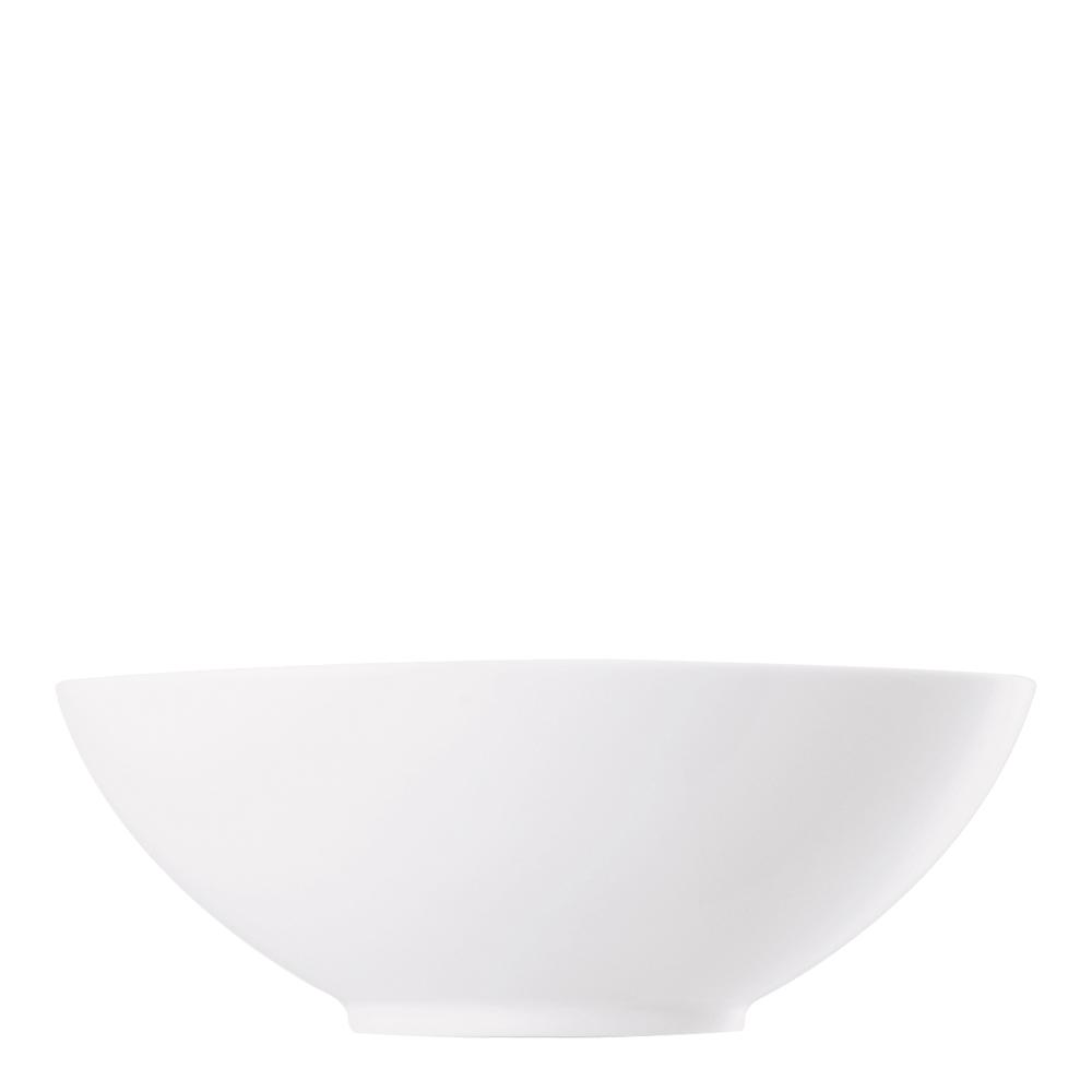 Skål oval 17 cm Vit