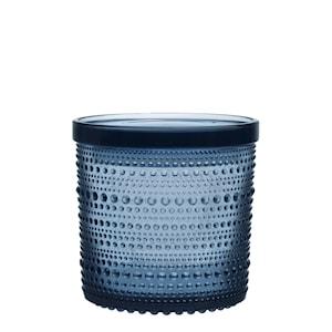 Kastehelmi Burk med lock 11x11,4 cm Regn