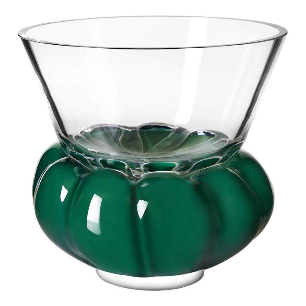 Padam Skål 15 cm Klar/Grön