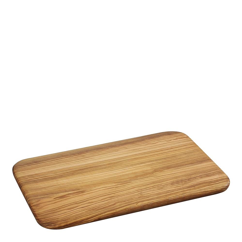 Skärbräda 30×21 cm Olivträ