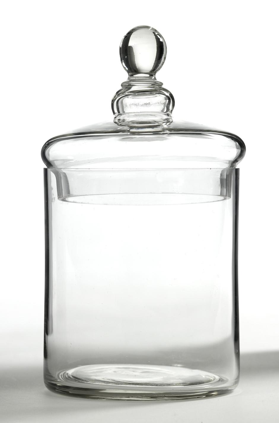 Förvaring Glasburk 10×17 cm Klar