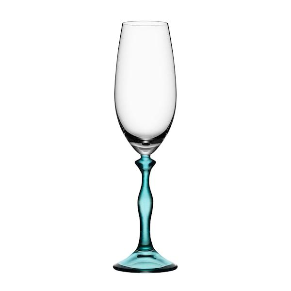 Two of Us Champagneglas Kvinna 41 cl Turkos