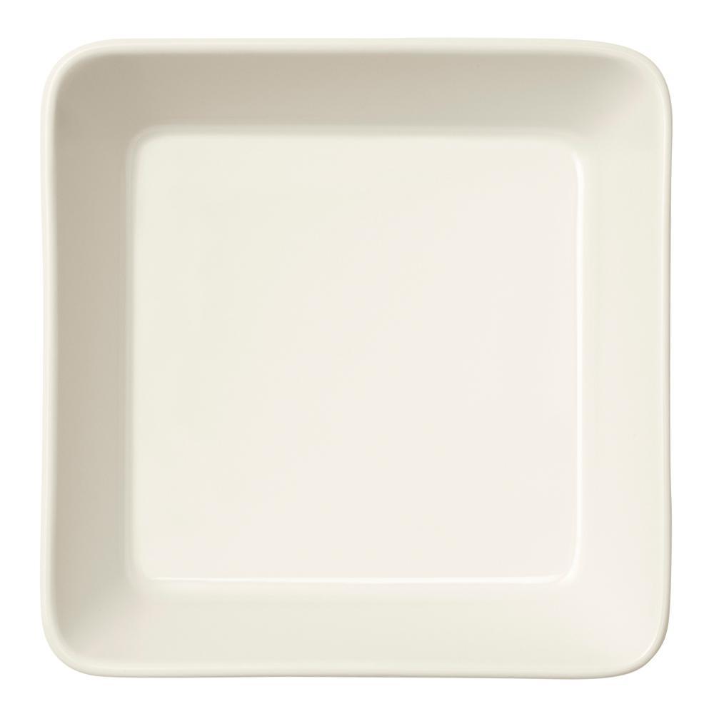 Teema Tallrik fyrkantig 12×12 cm Vit