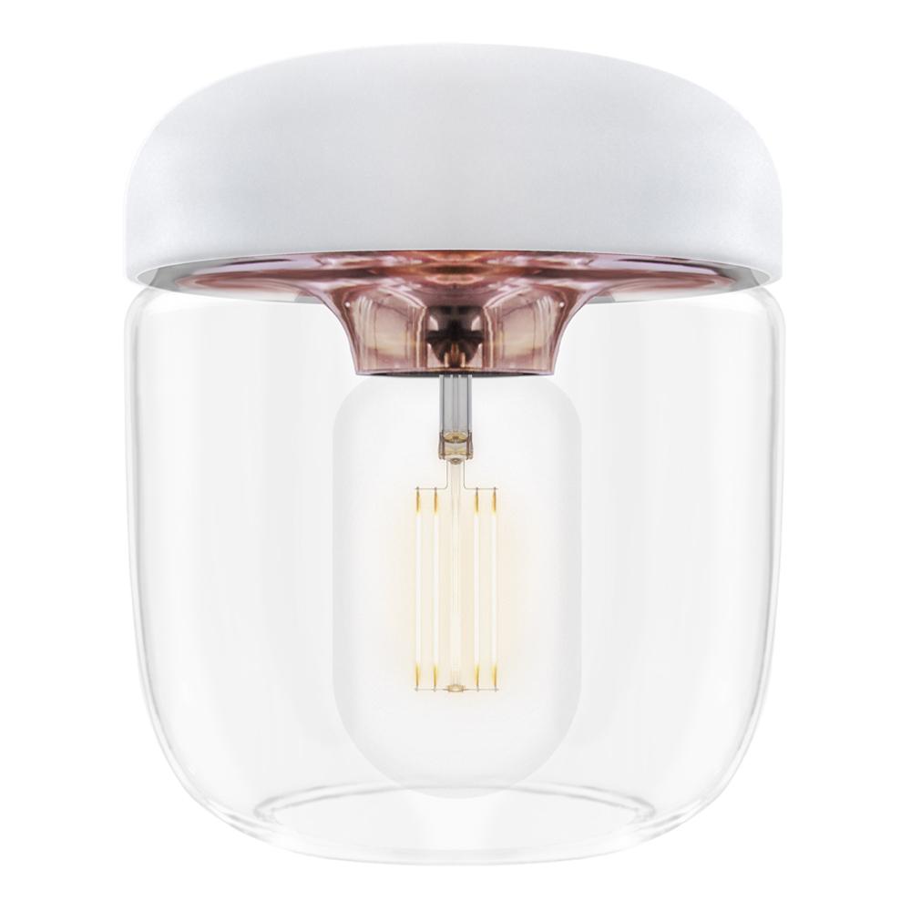 Acorn Lampskärm 14 cm Vit/Koppar