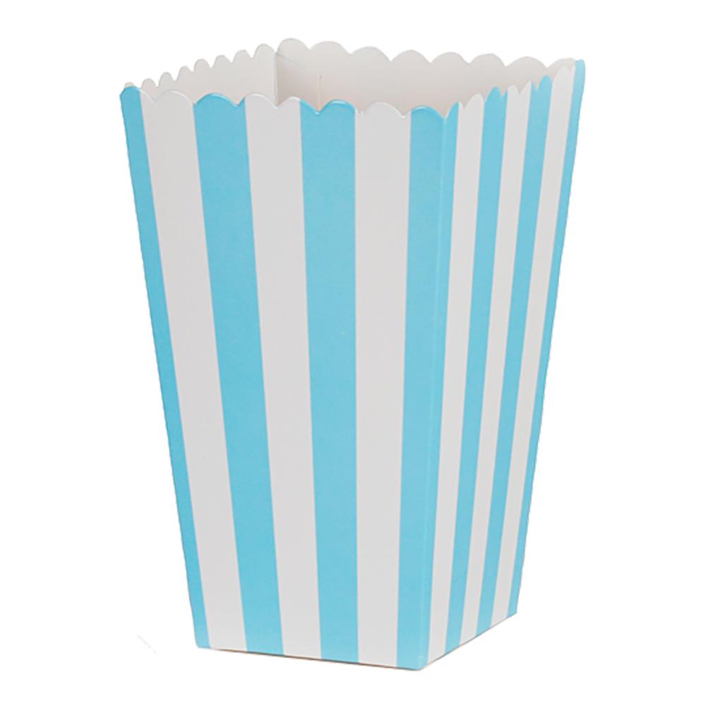 Popcornbox ljusbl¿ r¿nder 6-pack