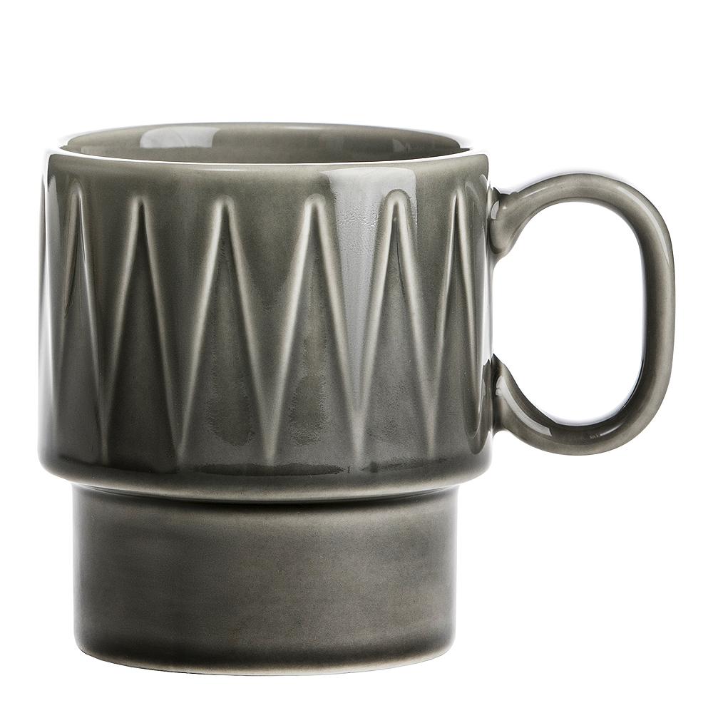 Coffee & More Kaffemugg 25 cl Grå