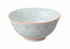Oriental Risskål 12 cm Vit/Blå