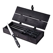 Old Farmer Black Grillkniv 4-pack
