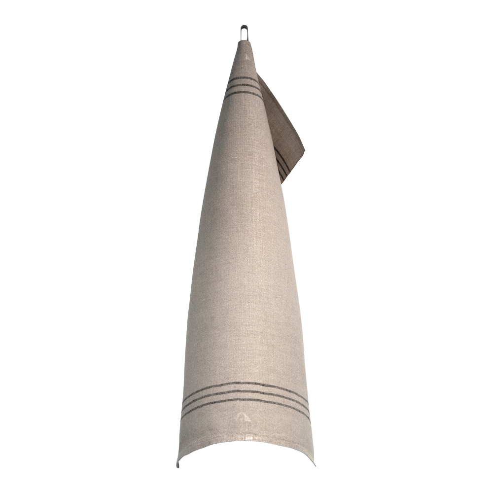Handduk 50x70 cm Svart/Oblekt