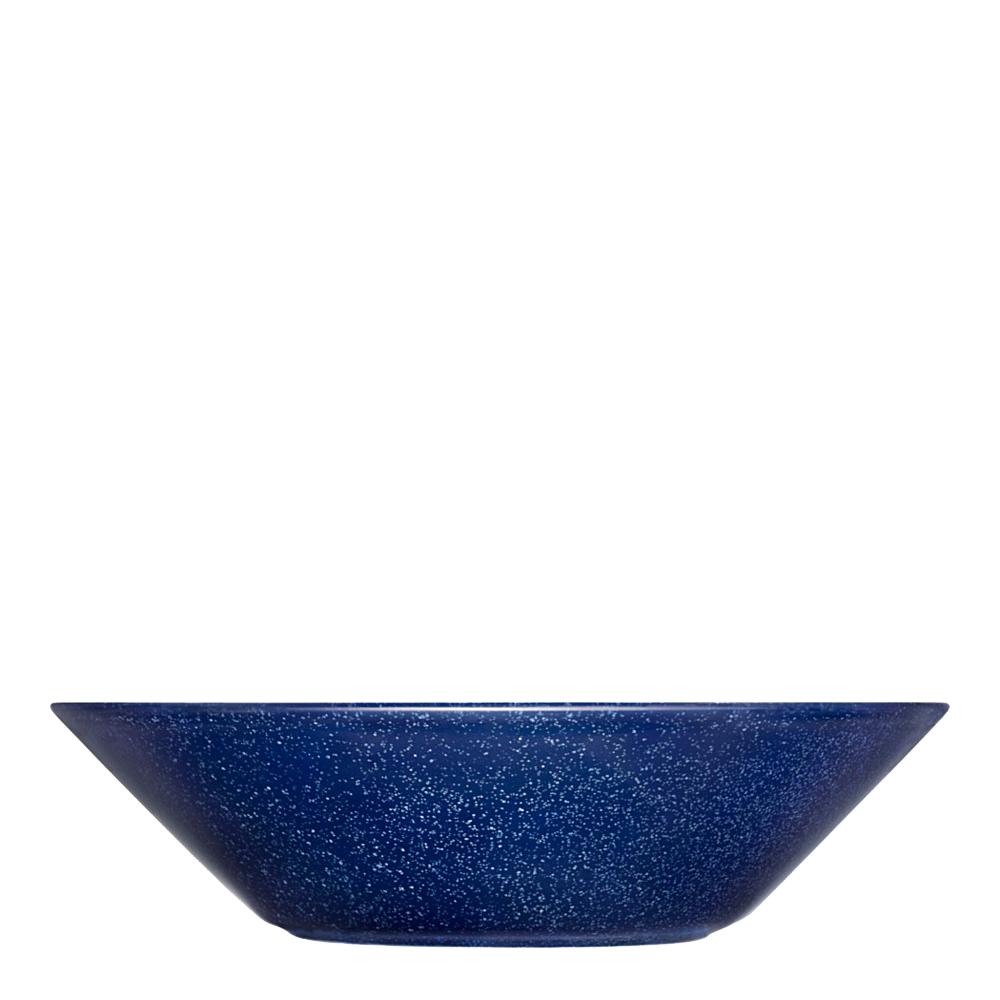Teema Tallrik djup/skål 21 cm Blå melerad