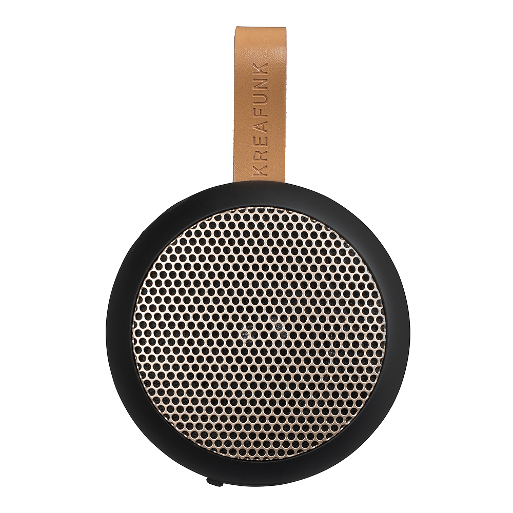 aGo Högtalare Bluetooth Svart/Roséguld