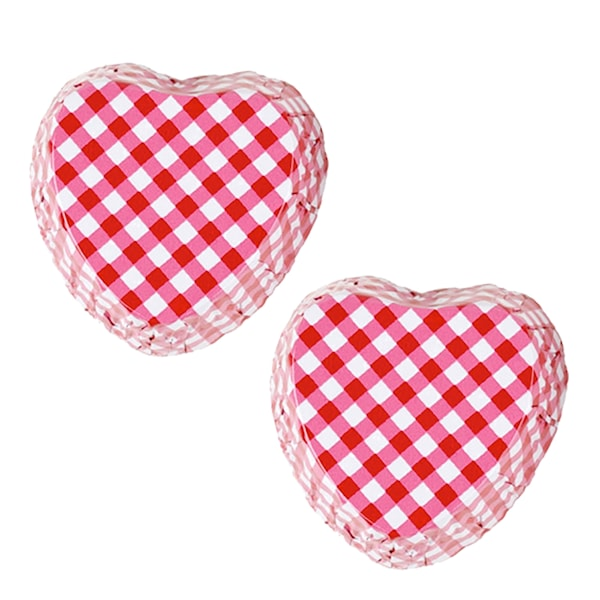 Konfektform hjärta 48-pack