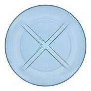 Bruk Tallrik flat 19,5 cm Water blue