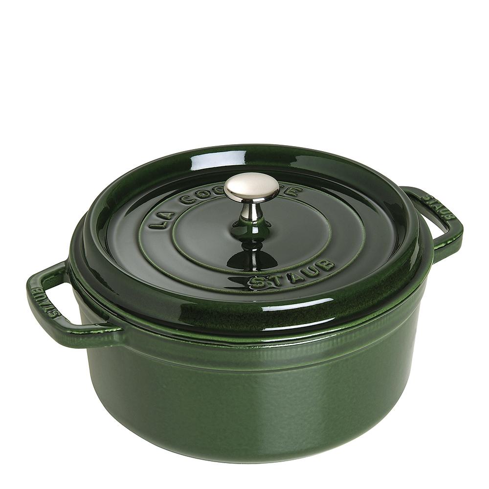 Gryta 38 L rund Grön