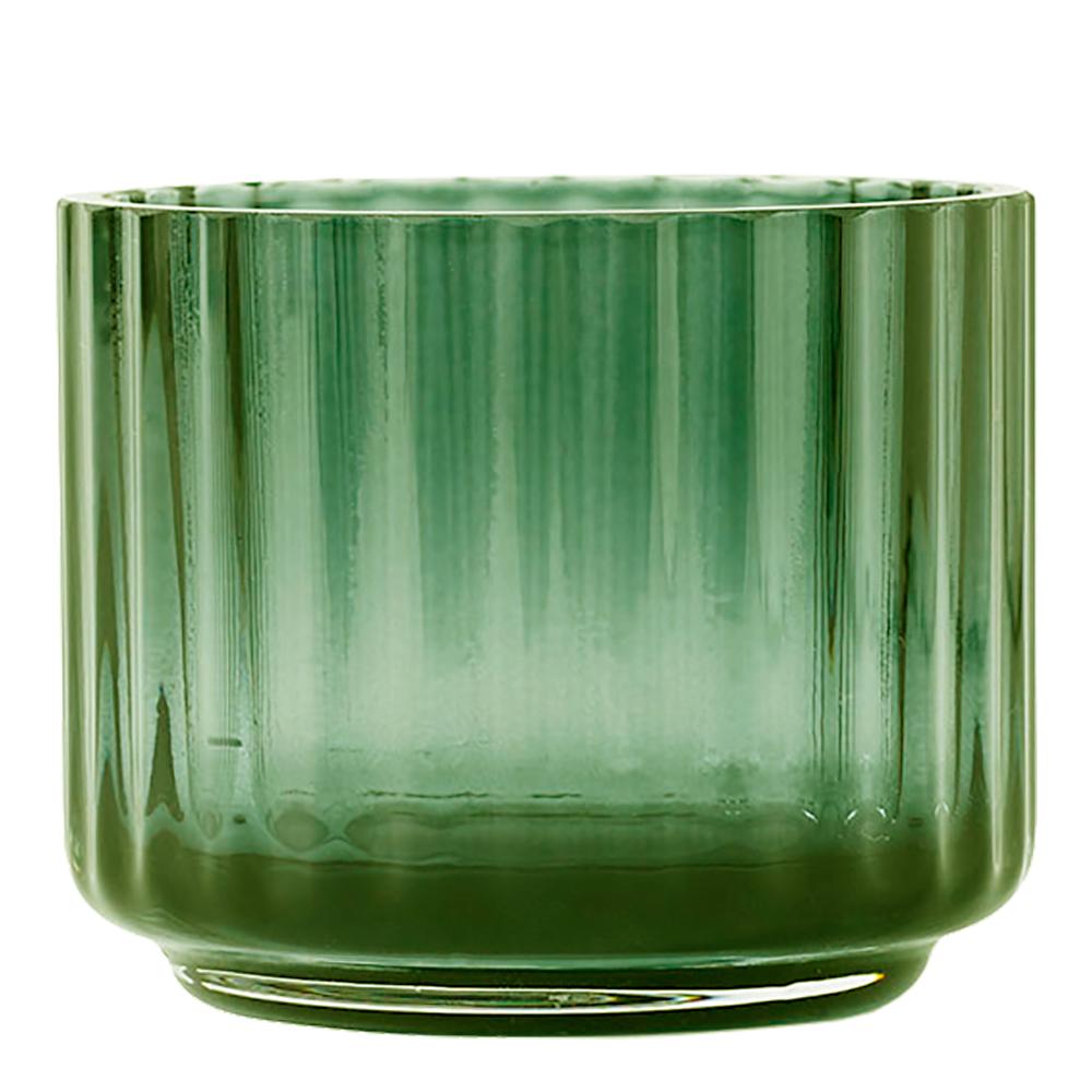 Lyngby Ljuslykta liten glas Grön