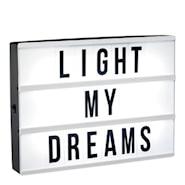 Lightbox Låda LED A4