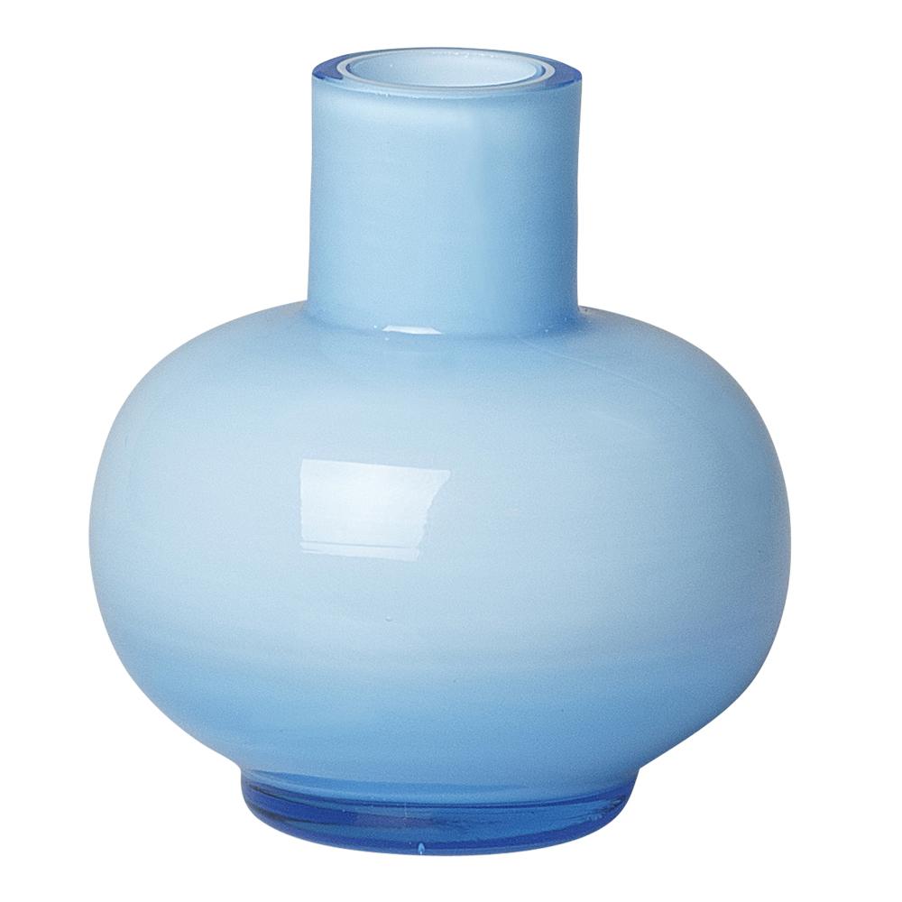 Mini Vas 6,5 cm Ljusblå