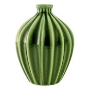 Amalie Vas 15x12 cm Grön