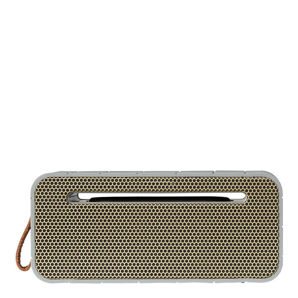 aMove Högtalare Bluetooth med Powerbank Cool Grey/Guld