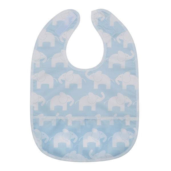 Elefant Haklapp Blå