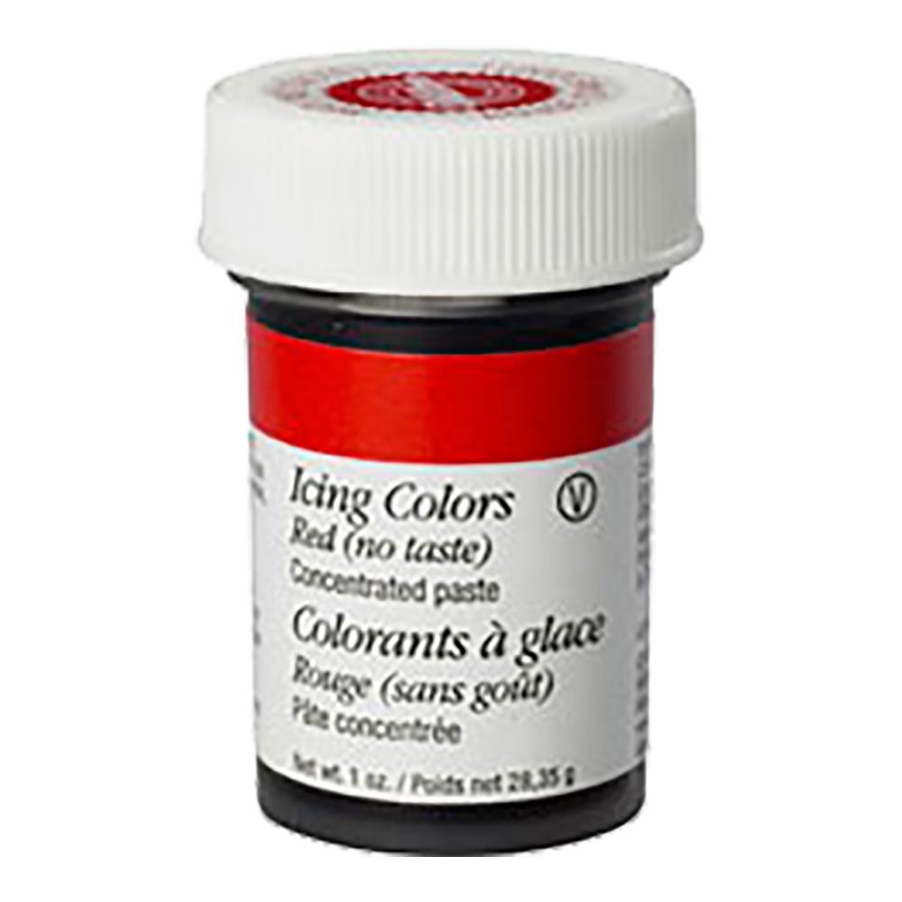 Icingfärg ingen smak Röd