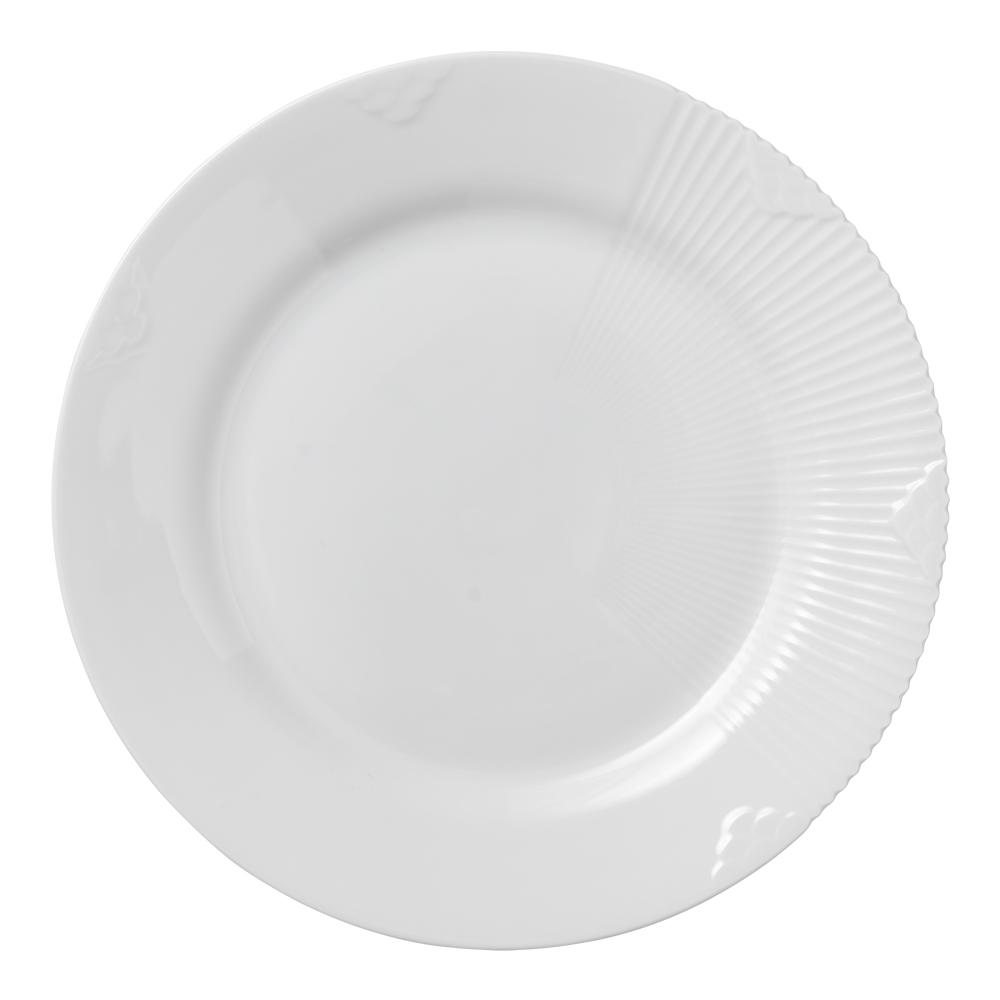 White Elements Tallrik flat 22 cm