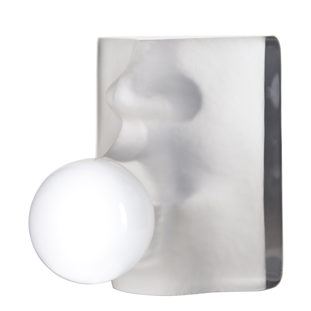 Bubble Skulptur 15 cm Vit